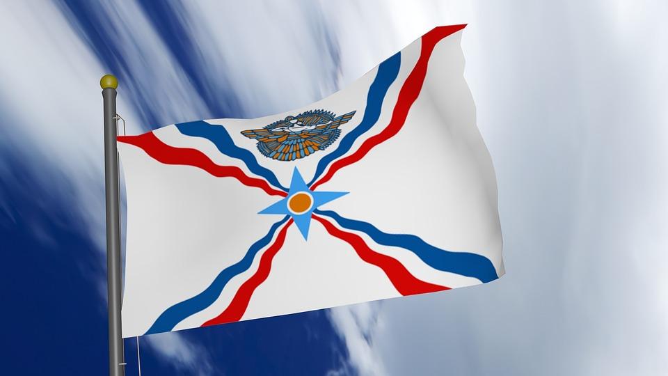 Bandera assíria.