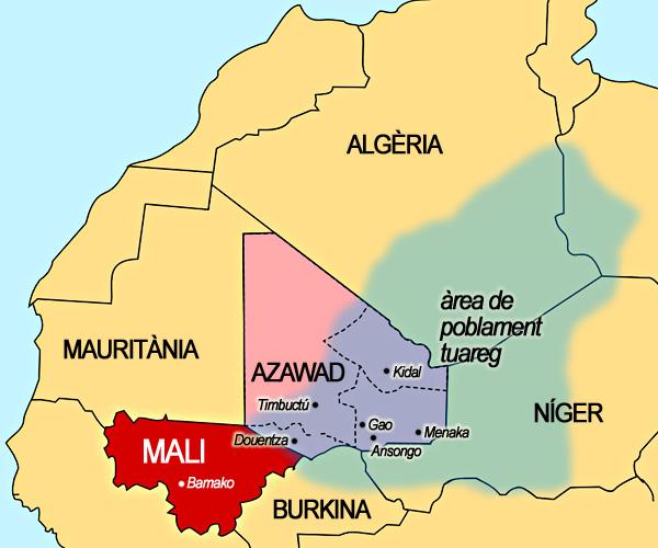 Mali i els grups armats de l'Azawad s'asseuen a la taula de converses  d'Alger - Nationalia