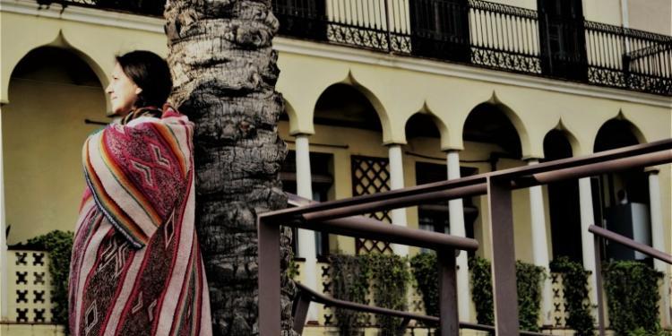 Erika Ibargüen a Mataró, la ciutat on viu.