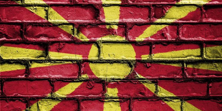 Bandera de Macedònia.